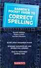 Barron's Pocket Guide to Correct Spelling Fourth Edition