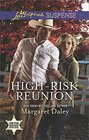 High-Risk Reunion (Lone Star Justice, Bk 1) (Love Inspired Suspense, No 562)