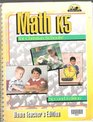 Math K5 for Christian Schools: Home Teacher's Edition: Second Edition