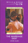 The Marriage Debt (Large Print)