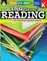 Practice Assess Diagnose 180 Days of Reading for Kindergarten