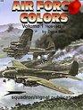 Air Force Colors, 1926-1942 (Aircraft Specials S.)