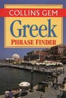 Collins Gem Greek Phrase Finder The Flexible Phrase Book