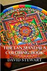 Tibetan Mandala Coloring Calm Relax and Meditation Coloring Books and Templates