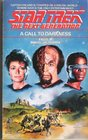 A Call to Darkness (Star Trek The Next Generation, No 9)