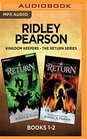 Ridley Pearson Kingdom Keepers - The Return Series Books 1-2 Disney Lands  Legacy of Secrets