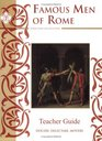 Famous men of rome teachers guide