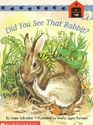 Did you see that rabbit? (Scholastic phonics readers)