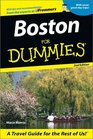 Boston for Dummies Second Edition