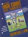High Court Case Summaries on Criminal Law Johnson