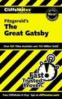 Cliffs Notes Fitzgerald's The Great Gatsby