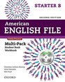 American English File Second Edition Level Starter Multi-Pack B With Online Practice and iChecker