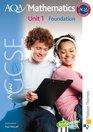 New AQA GCSE Mathematics Unit 1