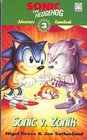 Sonic Adventure Gamebook Sonic V Zonik Bk 3