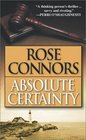 Absolute Certainty  A Crime Novel