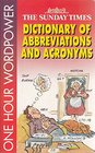 Dictionary of Abbreviations and Acronyms