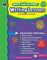 Write from the Start Writing Lessons Grd 4