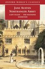 Northanger Abbey Lady Susan the Watsons Sanditon Lady Susan  The Watsons  Sanditon
