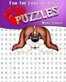 For The Love Of Dogs Word Search Puzzles Adult Activity Book