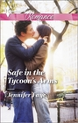 Safe in the Tycoon's Arms (Harlequin Romance, No 4417) (Larger Print)