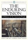 The Enduring Vision A History Of The American People From 1865