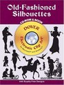 Old-Fashioned Silhouettes CD-ROM and Book