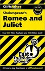 Cliffs Notes Shakespeare's Romeo and Juliet
