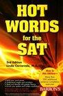Hot Words for the SAT (Hot Words for the Sat)