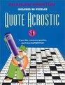 Quote Acrostic 4 (Quote Acrostic) (Quote Acrostic)