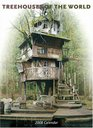 Treehouses of the World 2008 Wall Calendar