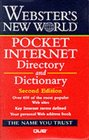 Webster's New World Pocket Internet Directory and Dictionary