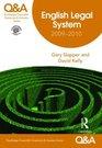 QA English Legal System 2009-2010