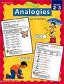 Analogies Grades 2-3