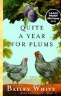 Quite A Year for Plums  A Novel