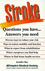 Stroke Questions You Have Answers You Need