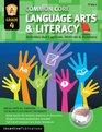 Common Core Language Arts  Literacy Grade 4 Activities That Captivate Motivate  Reinforce