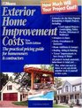 Exterior Home Improvement Costs The Practical Pricing Guide for Homeowners  Contractors