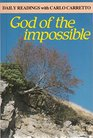 God of the Impossible Daily Readings with Carlo Carretto