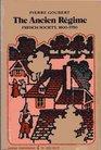 Ancien Regime French Society 1600-1750