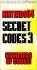 Secret Codes 3 for Nintendo 64