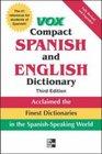 Vox Compact Spanish  English Dictionary 3E