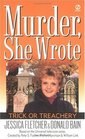 Trick or Treachery (Murder, She Wrote, Bk 14)