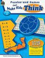 Puzzles and Games that Make Kids Think Grd 2