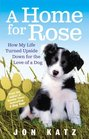 A Home for Rose How My Life Turned Upside Down for the Love of a Dog