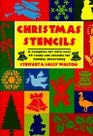 Christmas Stencils/a Complete Kit With over 20 Ready-Cut Stencils for Holiday Decorating