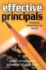 Effective Principals Positive Principles at Work