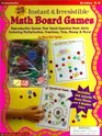 25 Instant  Irresistible Math Board Games