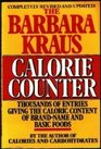 The Barbara Kraus Calorie Counter