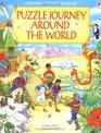 Puzzle Journey Around the World (Usborne Young Puzzle Adventures)