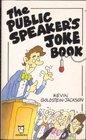 Public Speaker's Joke Book